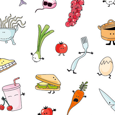 Cococook, illustration cuisine & food, Aurélie Castex